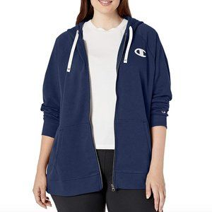 NEW CHAMPION Plus Heritage French Terry Zip Hoodie